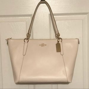 Coach Smooth Leather Ava Tote